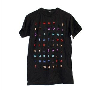 ☀️ Jimmy Eat World Graphic Band Tee